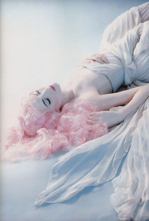 Shalom HarlowHair Beautiful, Sleep Beautiful, Blue Fashion, Mermaid Hair, Pink Hair, Shalom Harlow, Pale Pink, Shalomharlow, Photography