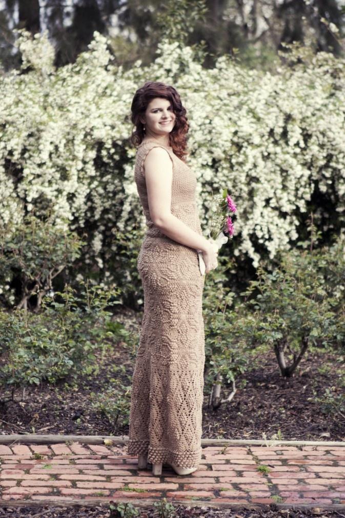 IMG_1826  Beautiful Crocheted Prom Dress  Found at: Yuli Handmade  yuli.co.za/#