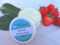 Milchbad Erdbeer-Sahne