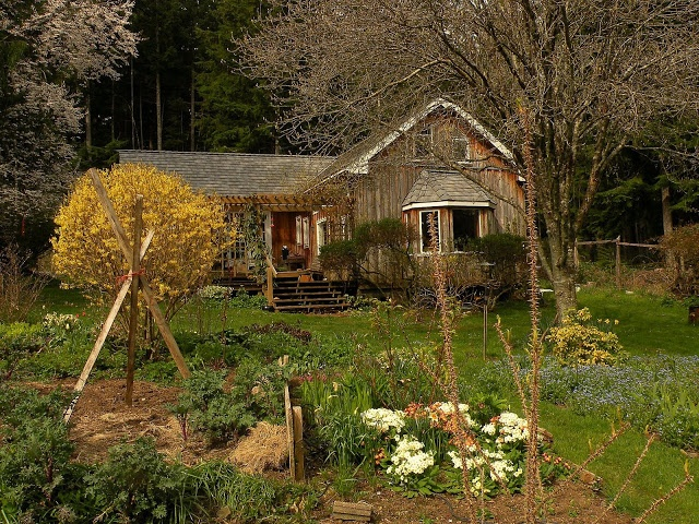 Denman Island - I have been to this house on a garden tour