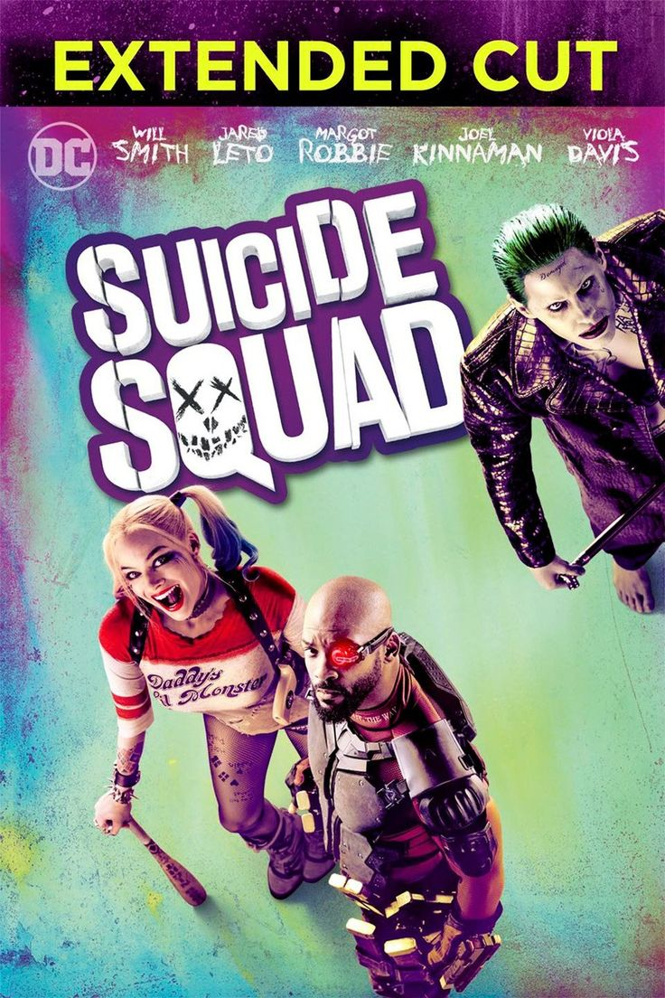Suicide Squad 2016 Bluray 720p EXTENDED