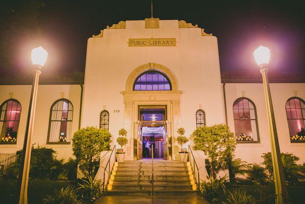 The Redondo Beach Historic Library; Redondo Beach, California