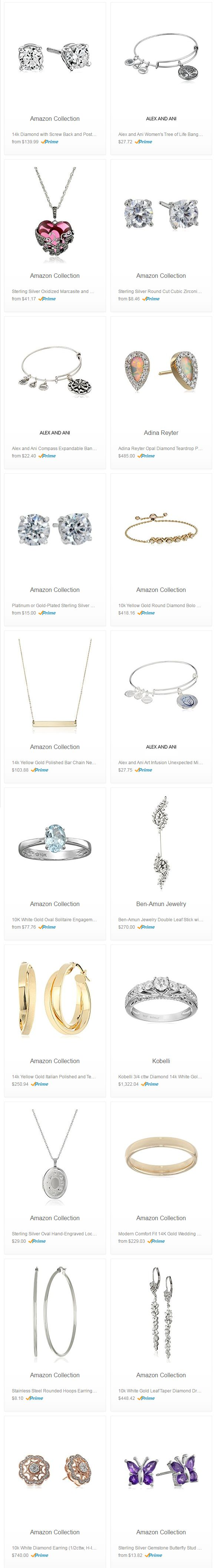 Black Friday Sales - 30 % Select Jewelry