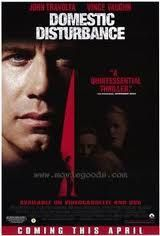 Domestic Disturbance Movie Poster 27x40 Used John Travolta, Leland L Jones, Bridgetta Tomarchio, Aaron Fiore, Steve Buscemi, Chris Ellis, Tait Ruppert, James Lashly, George Christy, Vince Vaughn, Nick Loren, David Schifter, Patt Noday