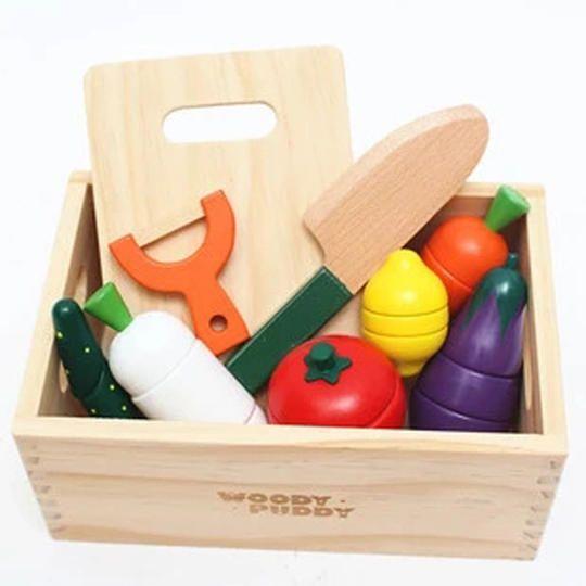 Children Play House Fruits Kitchen Accessories Toy Set