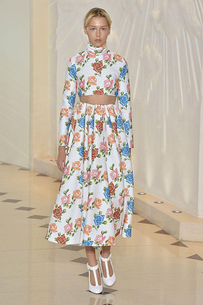 London Fashion Week - Emilia Wickstead spring/summer 18
