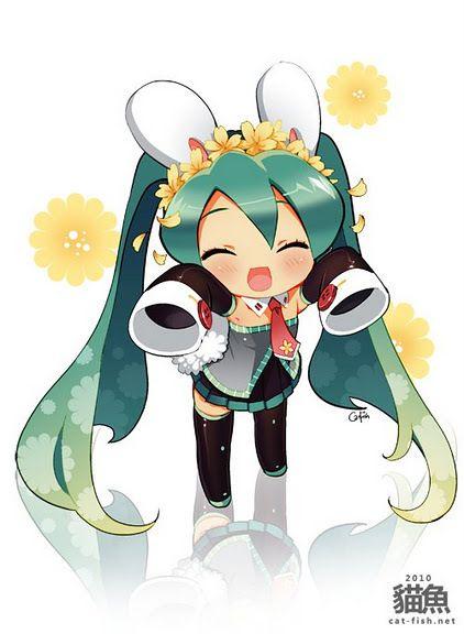 Kawaii Hatsune Miku Chibi