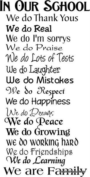 @Julie Cissell- I think we need something like this (with a few more) for your office- Now who@M Carroll do we know that does such things?????  ;) Classroom Rules