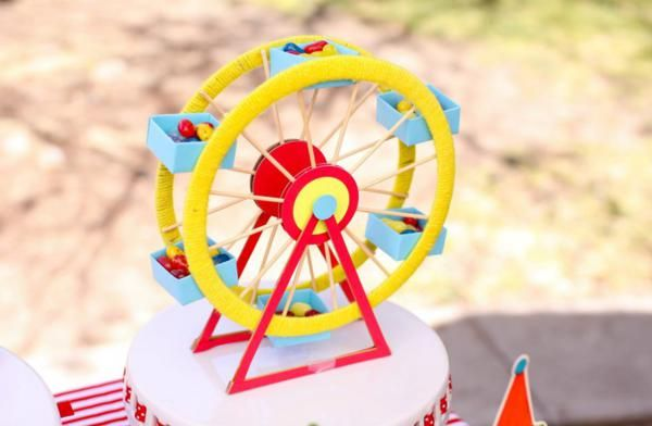 Circus Carnival Themed Boy Girl 1st Birthday Party Planning Ideas