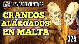 Craneos alargados en Malta : Arqueologia prohibida