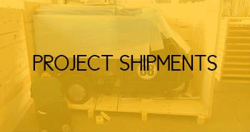 Project Shipments - Freight forwarding, export crates and export packing