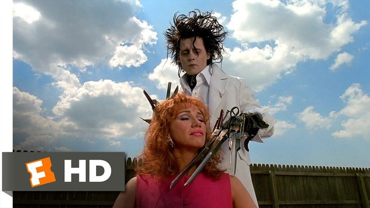 Edward Scissorhands (2/5) Movie CLIP - A Thrilling Experience (1990) HD