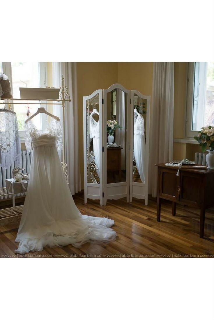 L'abito della sposa Alessandra [Dove Vuoi Catering - Villa Rota]
