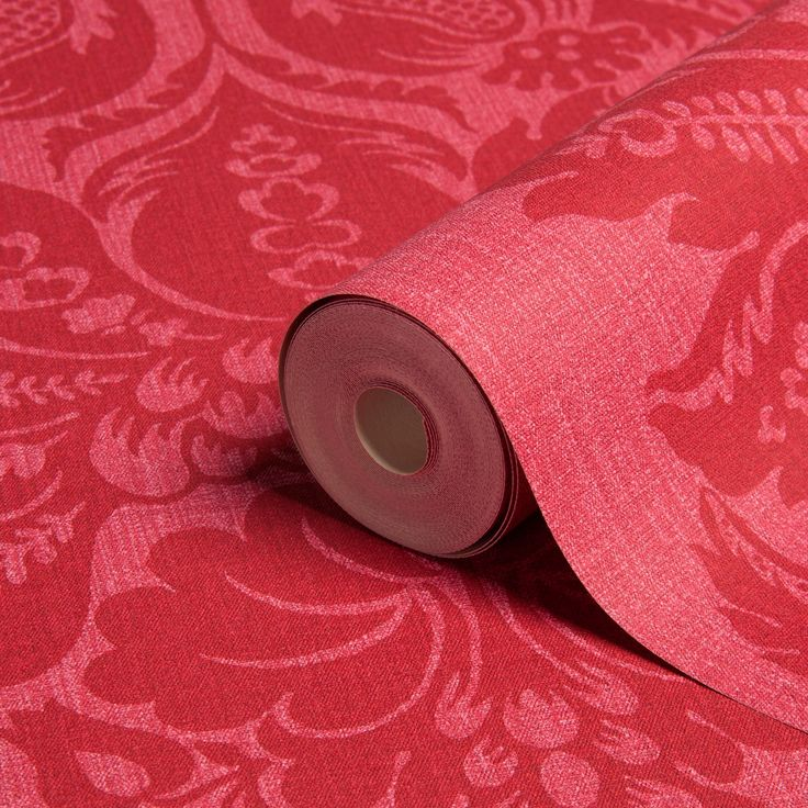 Arthouse Vintage Grand Cerise Damask Wallpaper | Departments | DIY at B&Q