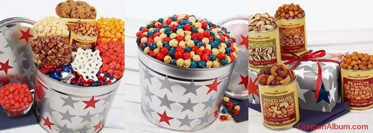 The Popcorn Factory Veterans Day gifts!