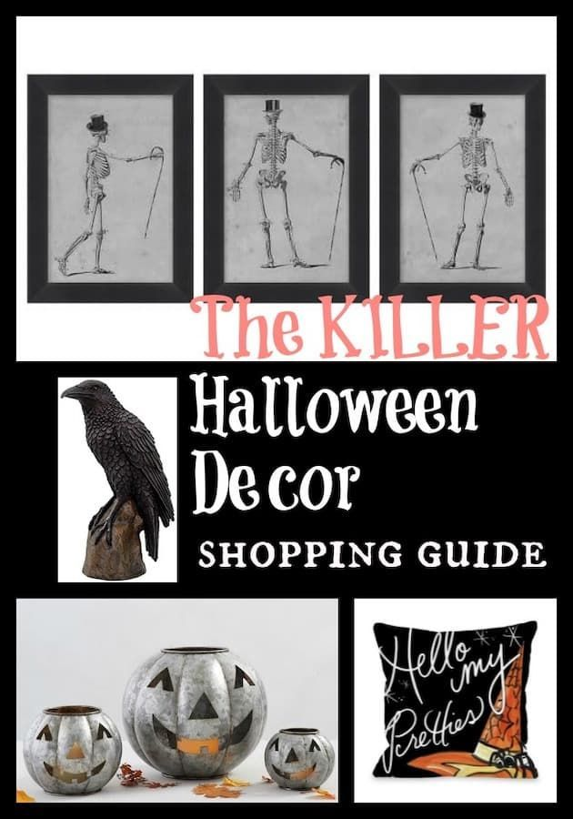 Halloween Decor 2020 Shopping The Halloween Decor Shopping Guide (My Picks for 2020) | Halloween