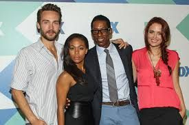 tom mison nicole beharie and some of the rest of the cast of sleepy hollow on the US' fox tv...
