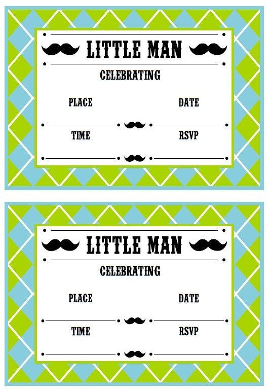 MY BABY REGISTRY Mustache baby shower theme (4)