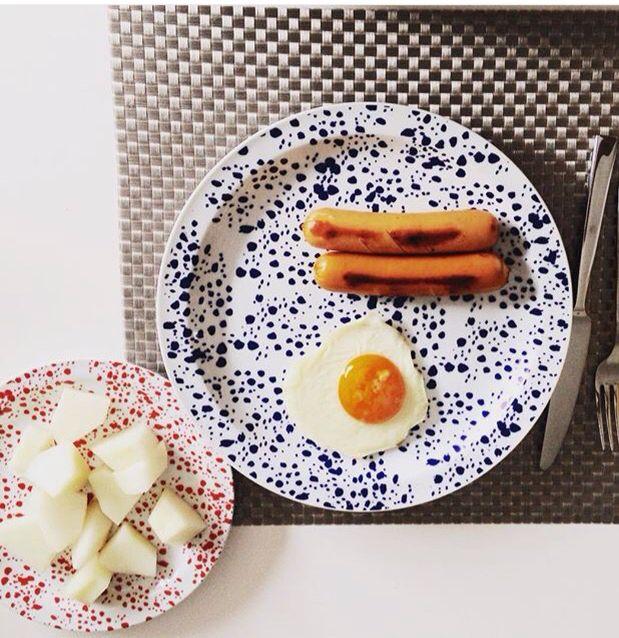 BaronAristizabal Dinnerware // Summer collection BaronAristizabal // Instagram : @baronaristizabal // baronaristizabal.com