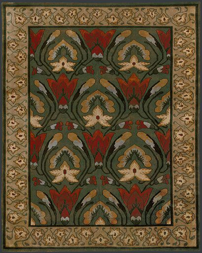 26 best images about floor raiment on pinterest english for Arts and crafts style rug