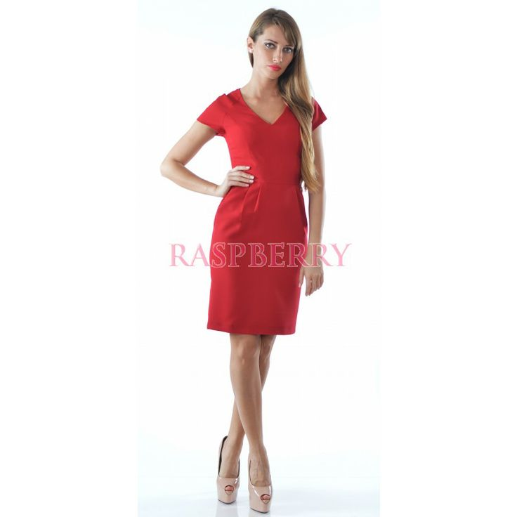 Classic Red Dress - Just Arrived - Imbracaminte