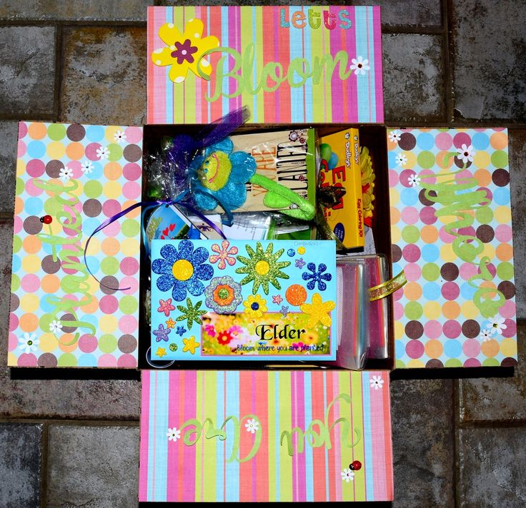 Missionary Box Moms - Bloom Where You Are Planted Box - Easter 2nd Year!
