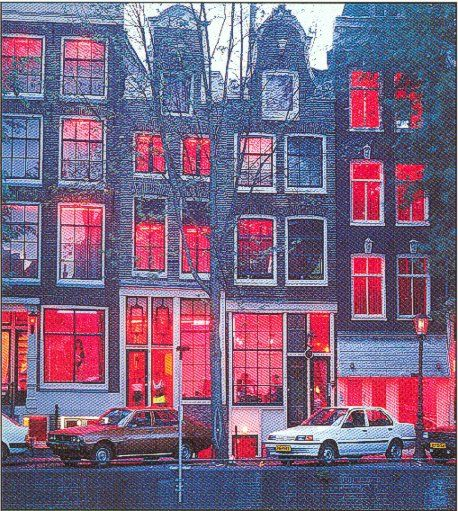 The Red Light District, Amsterdam, Netherlands,  2016, one of the things that symbolise Dutch open mindedness and down to earth nature.