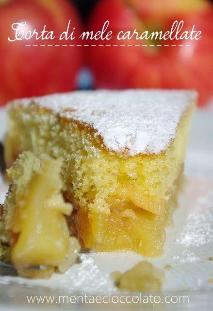 Menta e Cioccolato: Torta di Mele Caramellate al profumo di Vaniglia