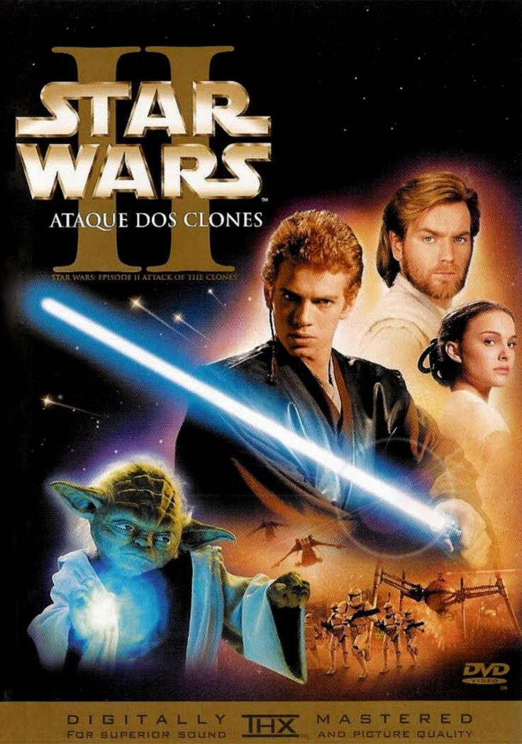 Blog Verdades De Um Ser Star Wars Episode Ii Star Wars Episode 2 Star Wars Ii