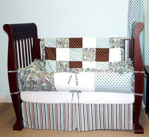 Crib Bedding 187 Rhinestone Cowgirl Paisley Decorator Crib