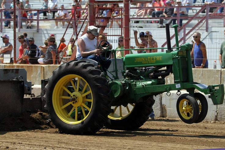 Wisconsin Events: Farm Tractor Pull #dcfairwi #FamilyEvent #Grandstand #TractorPull