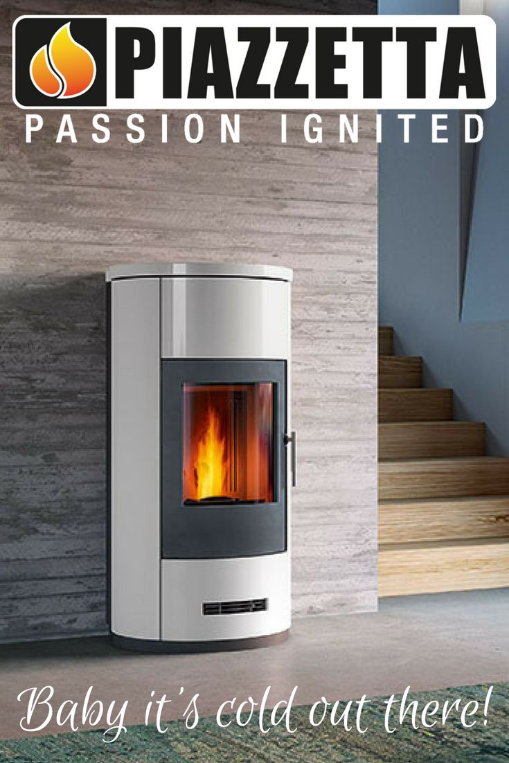 Piazzetta Pellet Heaters - stylish and environmentally friendly.  It's heating with a conscience!