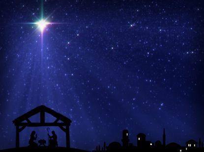 Christmas Star Manger Bethlehem Motion 1 Vertical Hold