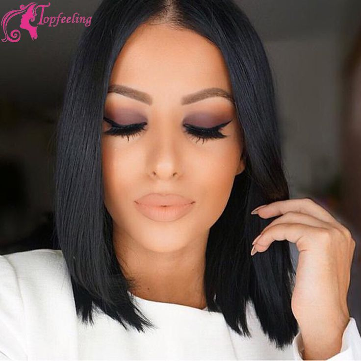 Cheap wig companies, Buy Quality wig closure directly from China wig deals Suppliers: Top Quality Hot Selling 130%density Short Cut wigs 100% Virgin hair Brazil