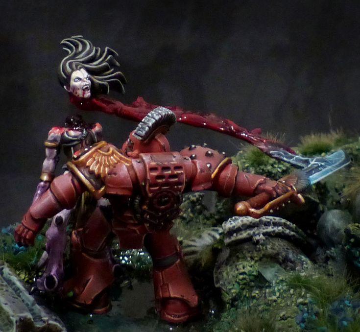 Blood Angel vs Slaanesh : Signus Daemonicus - Gangeek Style