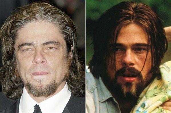 Benicio Del Toro Brad Pitt