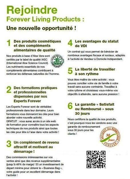 Rejoignez-nous ! http://www.aloebienetre.fr/forever-recrute-p168035.html