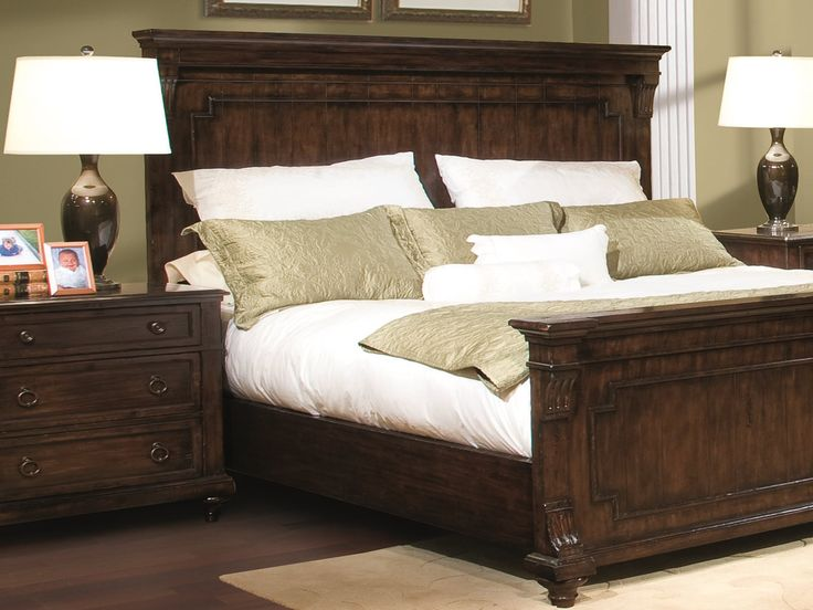 Marvelous Hekman Charleston Place Queen Size Bedroom Set | CHARBEDSET