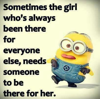 Needs Someone There For Her