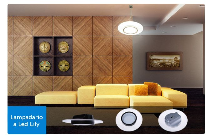 Illuminazione a led per il design | Pannelli a Led