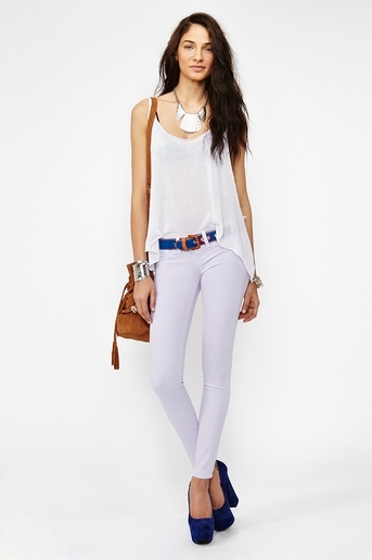 Dream Skinny Jeans in Lavender