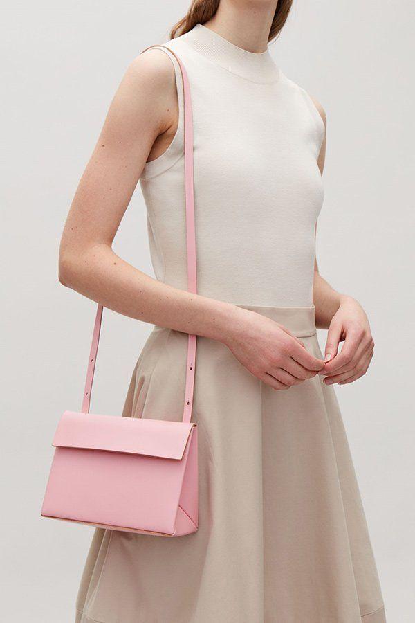 6c19d1c99c0da Sommertaschen 2018  COS Structured Leather Bag in Rosa (Hey Pretty Fashion  Flash)