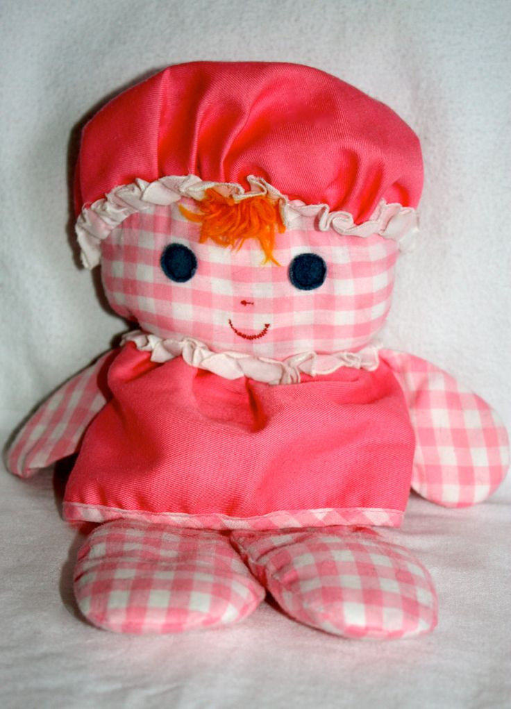 1975 Fisher Price Doll Lolly Doll All Cloth Baby S First