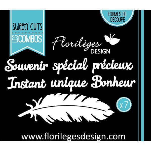 outil de d coupe la plume x3 dies florileges design pinterest. Black Bedroom Furniture Sets. Home Design Ideas