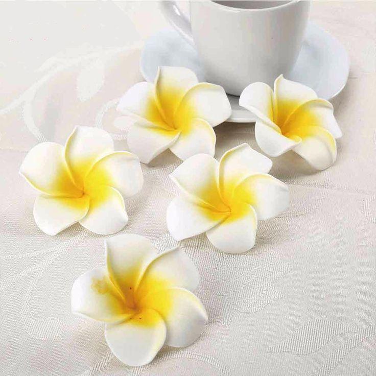 50 шт. Плюмерия Гавайские Цветы Декор Вечеринки Дня Рождения – Optimprice