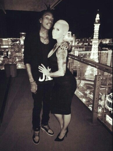 Wiz Khlifa and Amber Rose