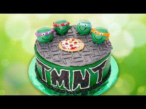 Click here to learn how to make an awesome Teenage Mutant Ninja Turtles cake with Cookies Cupcakes and Cardio!