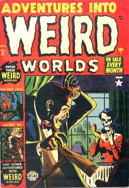 Russ Heath   Adventures Into Weird Worlds #9   Atlas   1952