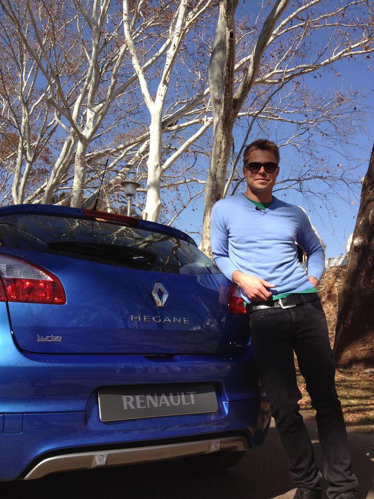 Bobby van Jaarsveld en die nuwe Renault Megane (2013)