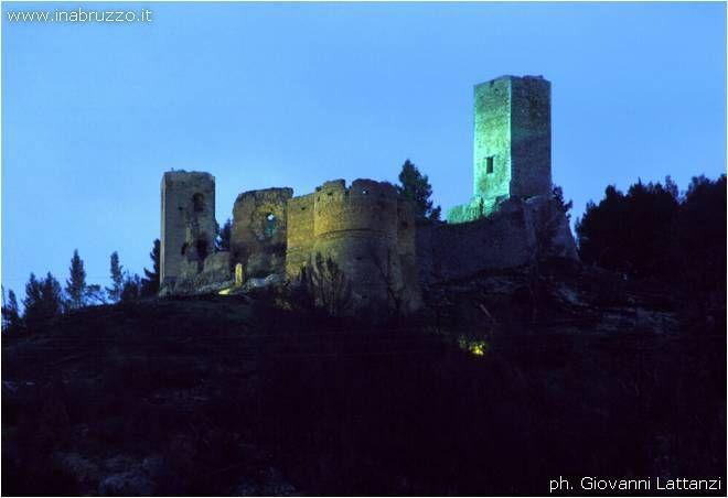 Castle Popoli, Italy
